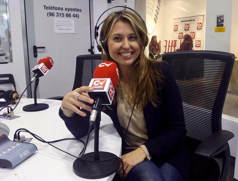 "Sònia Valiente en ""Café de Tarde"" de la 94.5 FM"